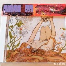 CDs de Música: AMON RA - SLAVES TO THE MOON - CD THRONE 2007 - COMO NUEVO!. Lote 296585103