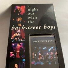 CDs de Música: A NIGHT OUT WITH THE BACKSTREET BOYS VHS + CD + CALENDARIO + TARJETA ALL ACCESS. Lote 296593993