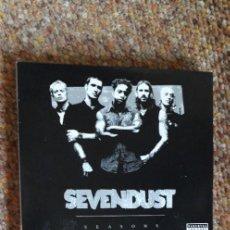 CDs de Música: SEVENDUST , SEASONS , CD+DVD 2003 DIGIPACK, PERFECTO ESTADO , NU METAL. Lote 296626673