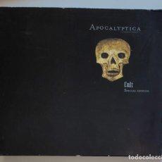 CDs de Música: APOCALYPTICA - CULT - SPECIAL EDITION - DIGIPACK 2 CD'S + LIBRETO 2005. Lote 296627028
