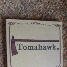 CDs de Música: TOMAHAWK , SIN TITULO , CD 2001 DIGIPACK, ESTADO IMPECABLE, HEAVY METAL. Lote 296634933