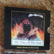 CDs de Música: HELLOWEEN , THE TIME OF THE OATH , CD 1996 LIMITED EDITION. ESTADO IMPECABLE. Lote 296635973