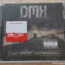 CDs de Música: DMX – THE GREAT DEPRESSION CD DEF JAM, EUROPE 2001 GANGSTA. Lote 296683128