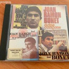 CDs de Música: JOAN RAMON BONET (DOTZE CANÇONS) CD 12 CANCIONES (CDIM1). Lote 296691088