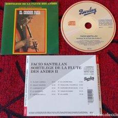 CDs de Música: FACIO SANTILLAN **EL CONDOR PASA - SORTILEGE DE LA FLUTE DES ANDES** CD ALEMANIA. Lote 296706418