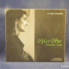 CDs de Música: UN MAR AL SUR Y ANTONIO VEGA - CD. Lote 296712798