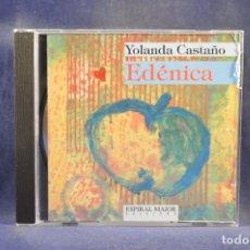 CDs de Música: YOLANDA CASTAÑO - EDÉNICA - CD. Lote 296720213
