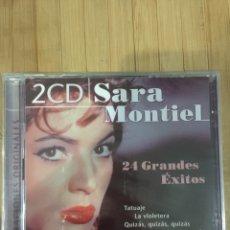 CDs de Música: SARA MONTIEL ( DOS DISCOS ) CD - PRECINTADO -. Lote 296729903