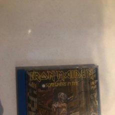 CDs de Música: IRON MAIDEN – SOMEWHERE IN TIME. CD ORIGINAL METAL. Lote 296736538