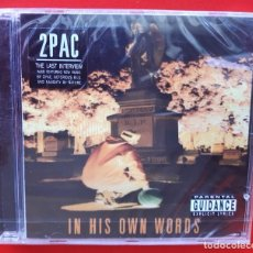 CDs de Música: 2PAC - IN HIS OWN WORDS CD. Lote 296739513