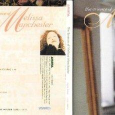 CDs de Música: MELISSA MANCHESTER - THE ESSENCE OF MELISSA MANCHESTER. Lote 296740108