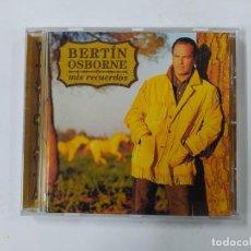 CDs de Música: BERTIN OSBORNE - MIS RECUERDOS - CD. TDKCD148. Lote 296743018