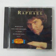 CDs de Música: RAPHAEL - SIMPLEMENTE LO MEJOR. CD. TDKCD148. Lote 296743093