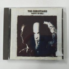 CDs de Música: THE CHRISTIANS - HAPPY IN HELL - CD. TDKCD149. Lote 296743358