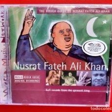 CDs de Música: NUSRAT FATEH ALI KHAN - SUFI SOUNDS FROM THE QAWWALI KING CD. Lote 296744678