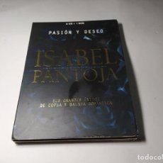 CDs de Música: CD - ISABEL PANTOJA – PASION Y DESEO ( 2 CDS + DVD). Lote 296784768