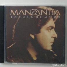 CDs de Música: CD MANZANITA / LOCURA DE AMOR (BMG /RCA). Lote 296791208