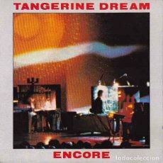 CDs de Música: TANGERINE DREAM - ENCORE. Lote 296798878