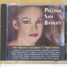 CDs de Música: PALOMA SAN BASILIO (MIS MEJORES CANCIONES - 17 SUPER EXITOS) CD 1993 USA. Lote 296805138