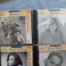 CDs de Música: MOCEDADES.MARI TRINI.ANTONIO MACHIN Y MARIFE DE TRIANA.. Lote 296821118