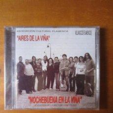 CDs de Música: AIRES DE LA VIÑA - VILLANCICOS FLAMENCOS (MIGUEL POVEDA, ENCARNA Y JOSÉ ANILLO) (CD). Lote 296826873