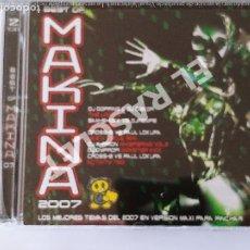 CDs de Música: CD MUSICA - MAKINA 2007 - 2 CDS. Lote 296853128