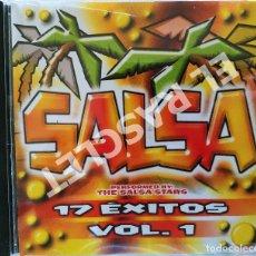 CDs de Música: CD MUSICA - SALSA 17 ÉXITOS VOL.1. Lote 296854378