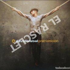CDs de Música: CD MUSICA - DAVID BISBAL PREMONICION - 1 CD + 1 DVD. Lote 296854758