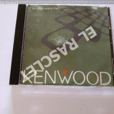 CDs de Música: CD MUSICA - KENWOOD - PROGRESSIVE. Lote 296857243