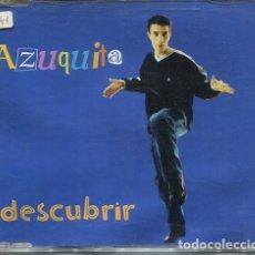 CDs de Música: AZUQUITA / DESCUBRIR (CD SINGLE CAJA PROMO HORUS 2000). Lote 296857333