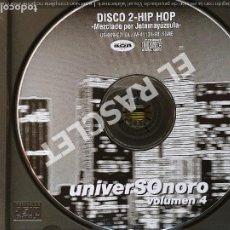 CDs de Música: CD MUSICA -DISCO2 - HIP-HOP MEZCLADO POR JOTAMAYUZCULA. Lote 296861208