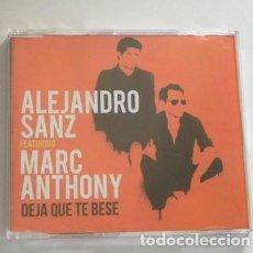 CDs de Música: ALEJANDRO SANZ FEATURING MARC ANTHONY DEJA QUE TE BESE - CD SENCILLO MÚSICA POP 2016 ¿ PROMOCIONAL ?. Lote 296867473