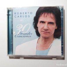 CDs de Música: ROBERTO CARLOS - 30 GRANDES CANCIONES - DOBLE CD. TDKCD150. Lote 296909273