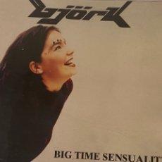 CDs de Música: BJORK CD SINGLE BIG TIME SENSUALITY Y THE ANCHOR SONG BJÖRK. Lote 296913948