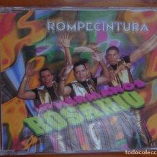 CDs de Música: LOS HERMANOS ROSARIOS / ROMPECINTURA / 1997 / CD. Lote 296965928