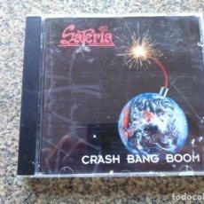 CDs de Música: CD -- SATERIA -- CRASH BANG BOOM -- 10 TEMAS -- 1994 --. Lote 297015873