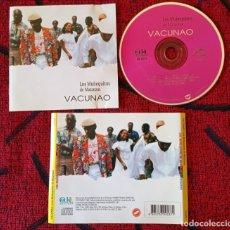 CDs de Música: LOS MUÑEQUITOS DE MATANZAS ** VACUNAO ** CD ORIGINAL 1998 CUBA. Lote 297016848
