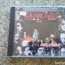 CDs de Música: CD -- YOUR CHOICE LIVE SERIES 010 -- SCREAM -- 12 TEMAS -- 1991 --. Lote 297035263
