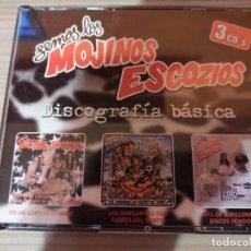 CDs de Música: MOJINOS ESCOZIOS - DISCOGRAFÍA BÁSICA 3CDS. Lote 297097003