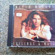 CDs de Música: CD -- MITCH MALLOY - CEILINGS & WALLS -- 11 TEMAS -- 1994 --. Lote 297097548