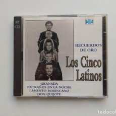 CDs de Música: LOS CINCO LATINOS - RECUERDOS DE ORO. DOBLE CD. TDKCD153. Lote 297111218