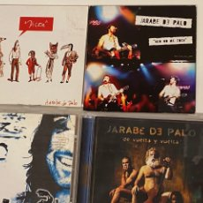CDs de Música: LOTE 4 CDS JARABE DE PALO. Lote 297116683