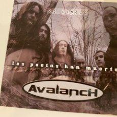 CDs de Música: AVALANCH - LOS POETAS HAN MUERTO (SINGLE). Lote 297119003