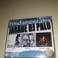 CDs de Música: JARABE DE PALO - FUNDAMENTALES 3 CD'S + LIBRILLO INTERIOR. Lote 297120003