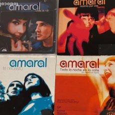 CDs de Música: LOTE AMARAL ESTRELLA DE MAR + SINGLES. Lote 297120258