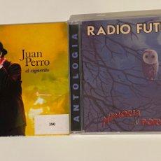 CDs de Música: LOTE RADIO FUTURA Y JUAN PERRO. Lote 297120398