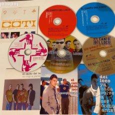 CDs de Música: LOTE CDS EL CANTO DEL LOCO Y DANI MARTÍN. Lote 297120603