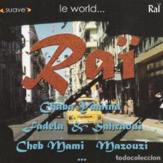 CDs de Música: VARIOUS - LE WORLD... RAÏ 2 (CD, COMP). Lote 297125458