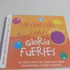 CDs de Música: CD CANTANDO CON GLORIA FUERTES REF. UR MES. Lote 297152143