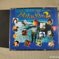 CDs de Música: BALADAS 2. LAS MEJORES BALADAS DEL AÑO. 2CDS. Lote 297153323